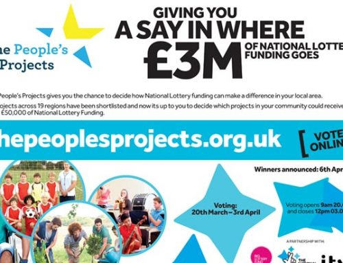 U.K. National Lottery Campaign to Support the People's Projects