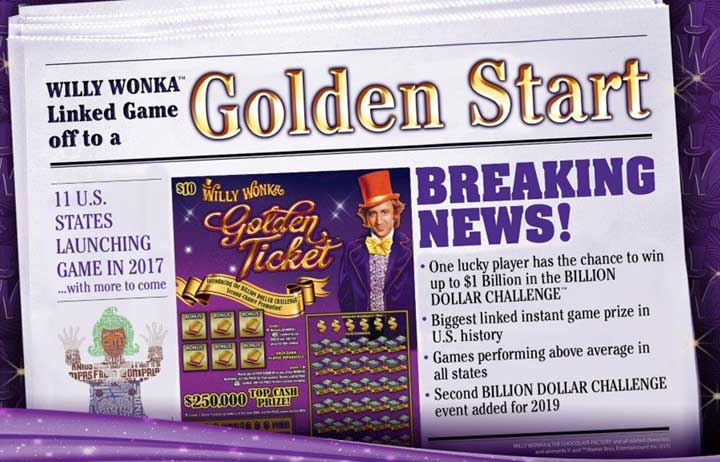Willy wonka golden ticket sweepstakes