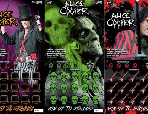 Alice Cooper Branded Ticket