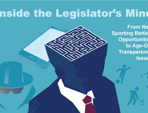 Inside the Legislator's Mind: From Sports Betting Opportunities to Transparency Issues