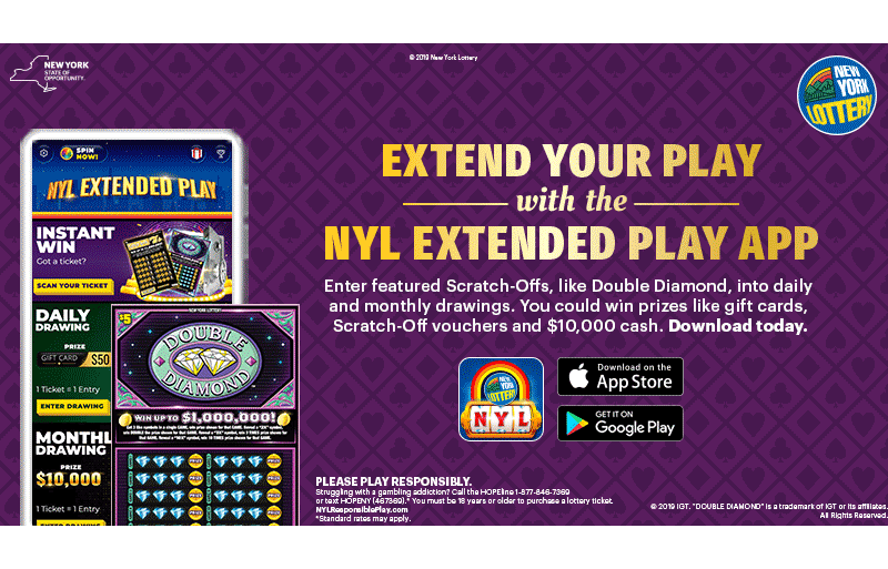 NYL's Extended Play Games App – La Fleur's Lottery World
