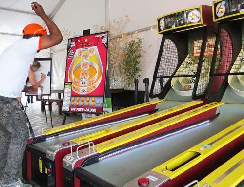 Alchemy3-Licensed Skee-Ball Program Is Big Success