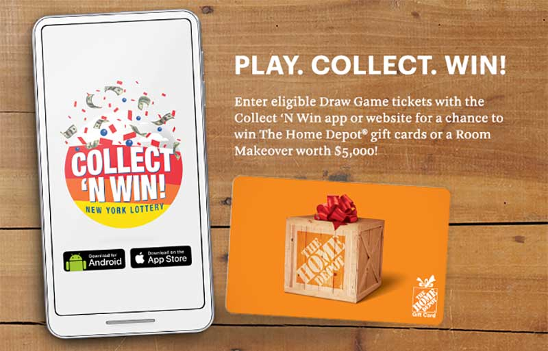 NY Lottery's Collect 'N Win App