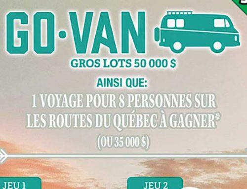 Loto-Quebec Launches Novel Go-Van Scratcher Game