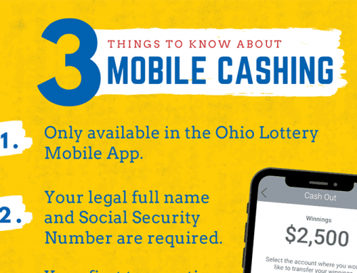 Ohio Lottery's Mobile Cashing App
