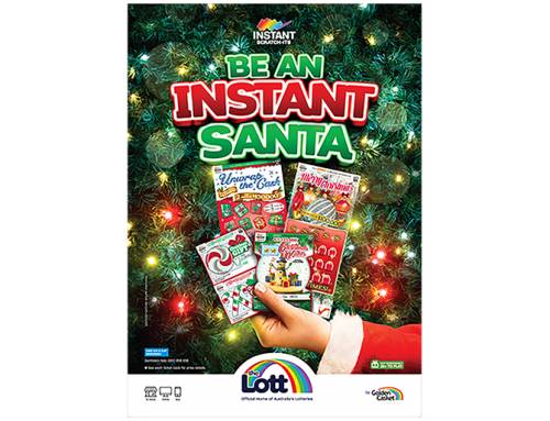 The Lott Launches Hot Holiday Scratch-Its in Australia