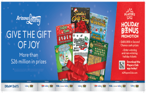 Arizona Lottery is offering a wide range of scratch tickets.