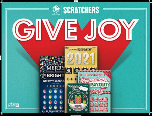 """California Lottery: """"Give Joy"""""""