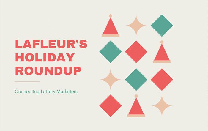 La Fleur's Magazine spotlights lotteries' holiday scratcher programs.