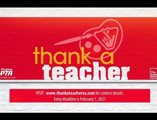 "Virginia Lottery ""Thank A Teacher"" Art Contest"
