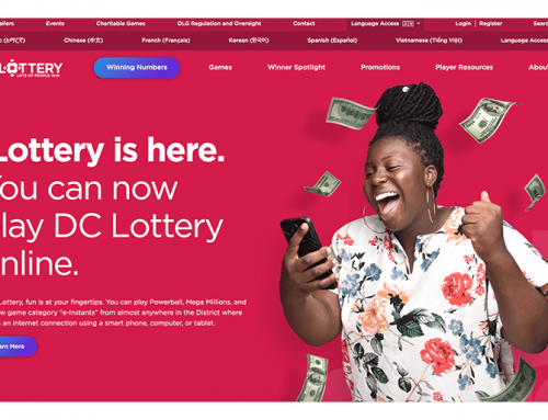 "DC Lottery's New Online Portal: ""Fun Is At Your Fingertips"""