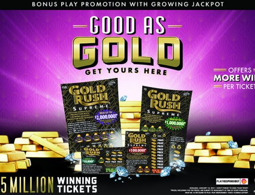 Florida Lottery Launches New GOLD RUSH SUPREME Family of Games