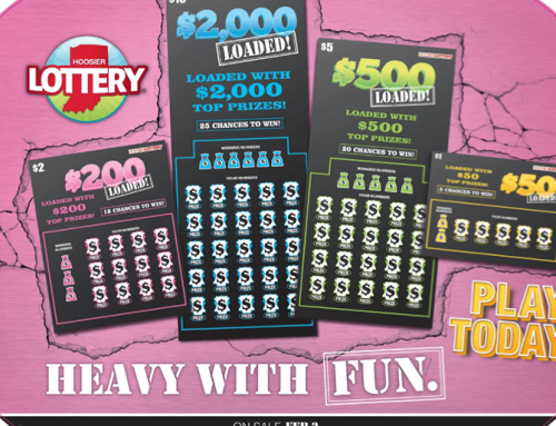 "Hoosier Lottery's LOADED Scratch-off Family Is ""Heavy With Fun"""