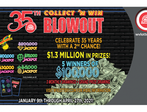 West Virginia Lottery's 35th Blowout Collect 'N Win® promotion